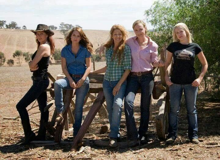 The second group. Love them all.! McLeods Daughters. Cast group shot. Great tv, show, photo