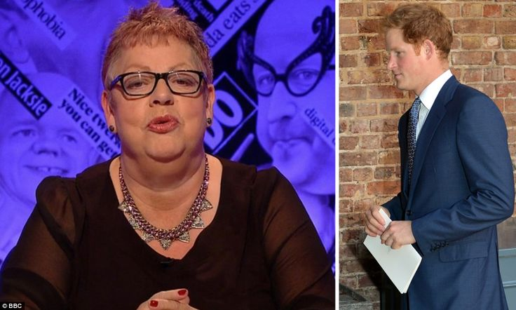 10-27-13.    BBC accused of defaming Prince Harry, Jo Brand claims he takes cocaine