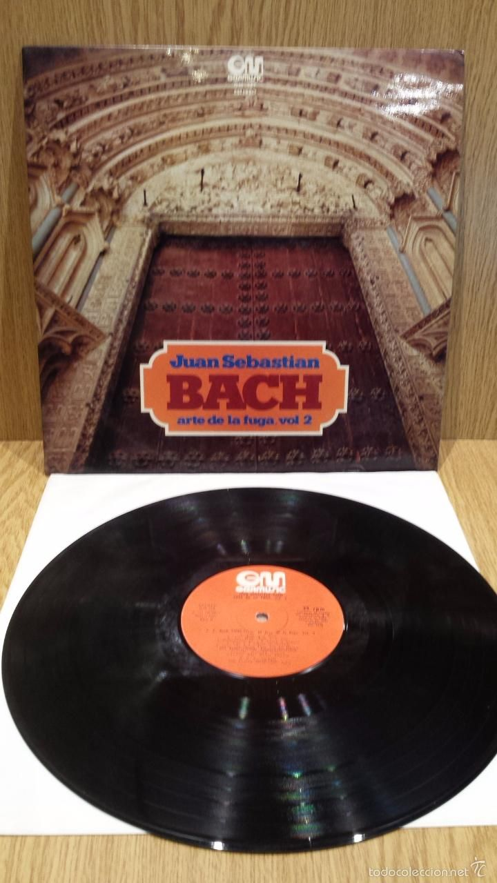 JUAN SEBASTIÁN BACH. ARTE DE LA FUGA. VOL. 2 LP / GRAMUSIC - 1975 / MBC. ***/***