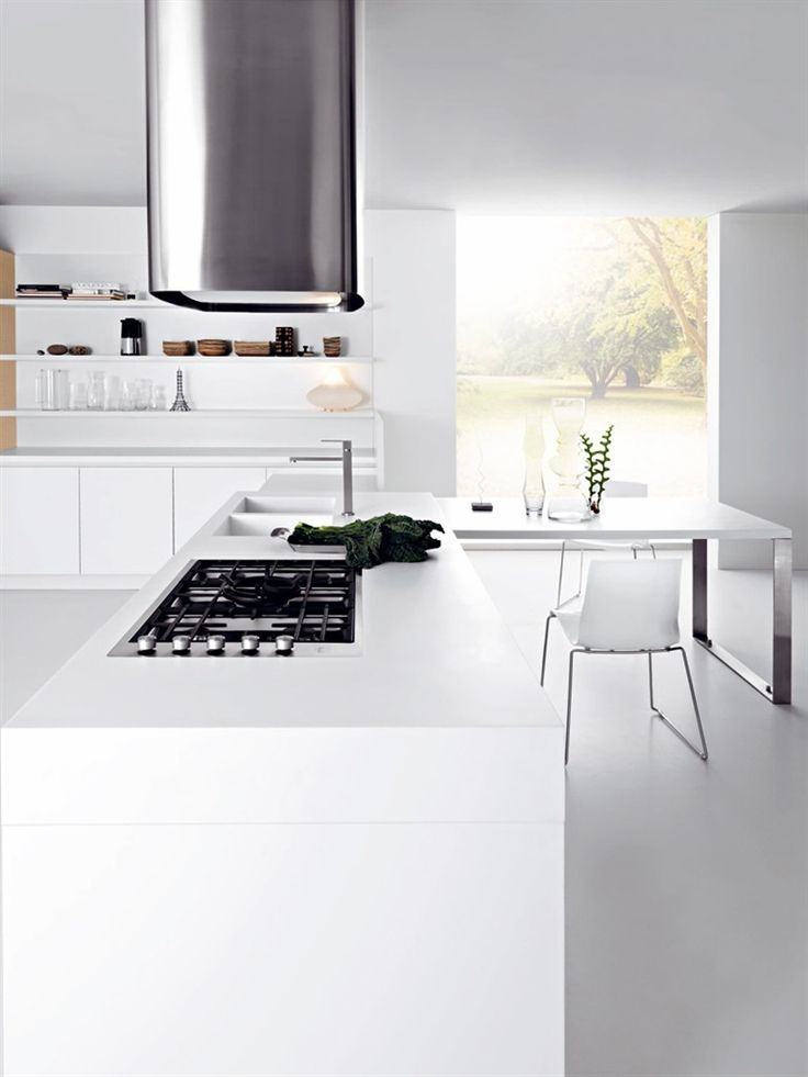 Fitted #kitchen ARIEL By CESAR ARREDAMENTI | #design Gian Vittorio Plazzogna