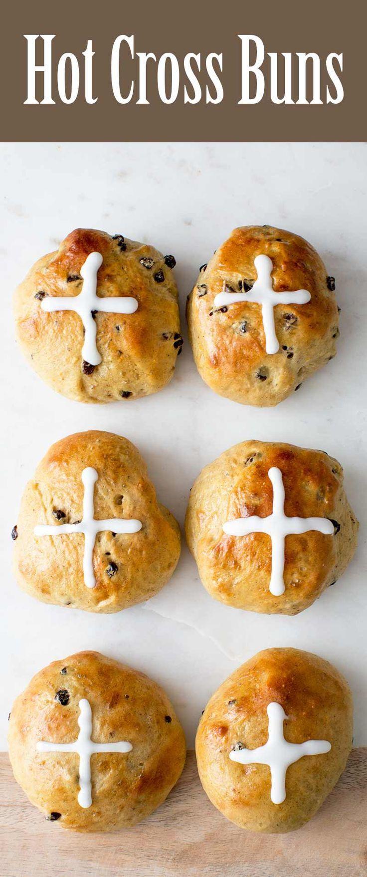Hot Cross Buns recipe from @simplyrecipes