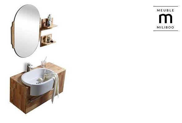 Meuble de salle de bain NIVAN pas cher vasque, meuble sous-vasque