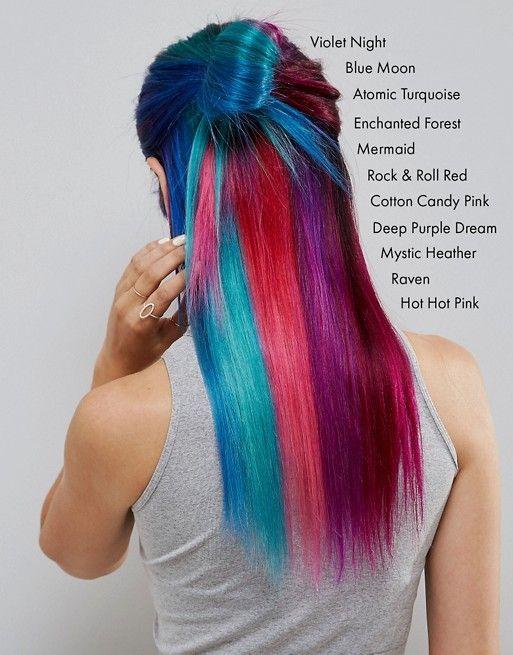 partager manic panic nyc coloration crme semi permanente pour les cheveux rouge - Coloration Semi Permanente Rouge