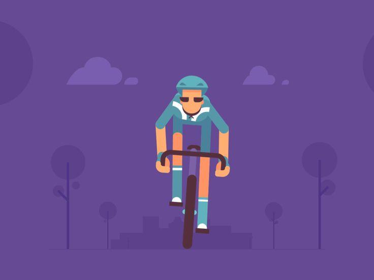 Tour de France by Valentin Kirilov #Design Popular #Dribbble #shots