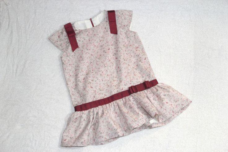 DIY Costura: Vestido de niña con cintura baja (patrón gratis) | | Oh, Mother Mine DIY!!