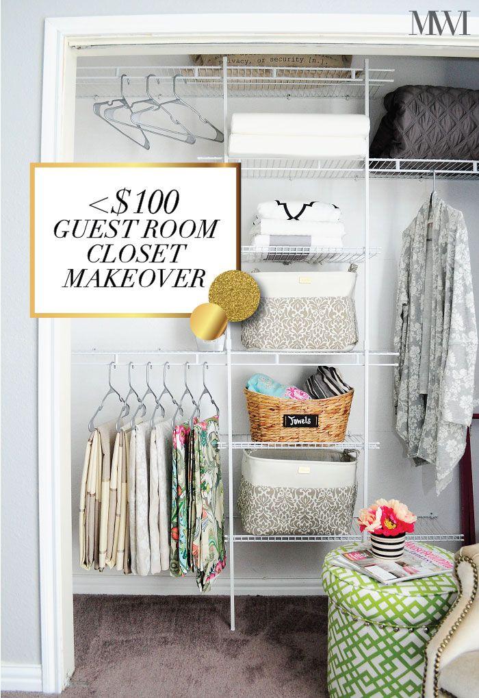 How To Makeover Your Closet For. Bedroom ClosetsDiy BedroomBedroom IdeasDiy  OrganizationOrganizing ...