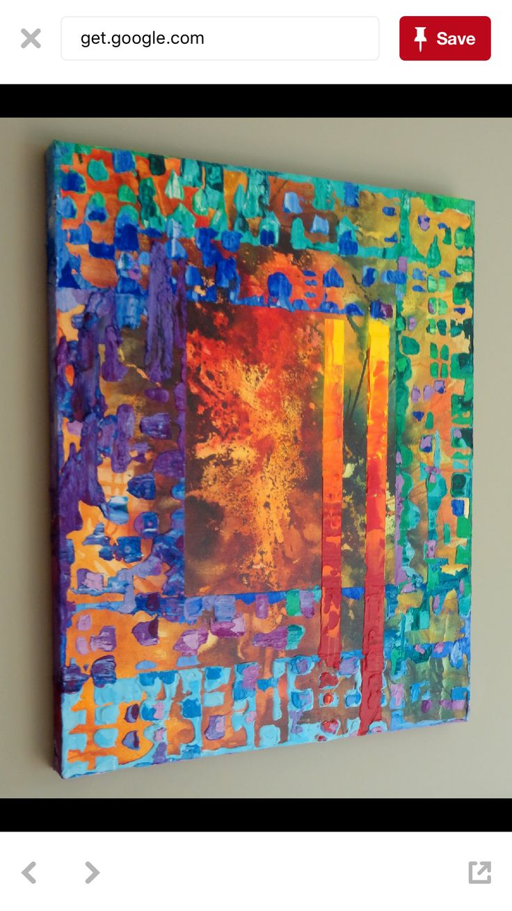 Abstract art inspiration image by laura grabic on acrylic
