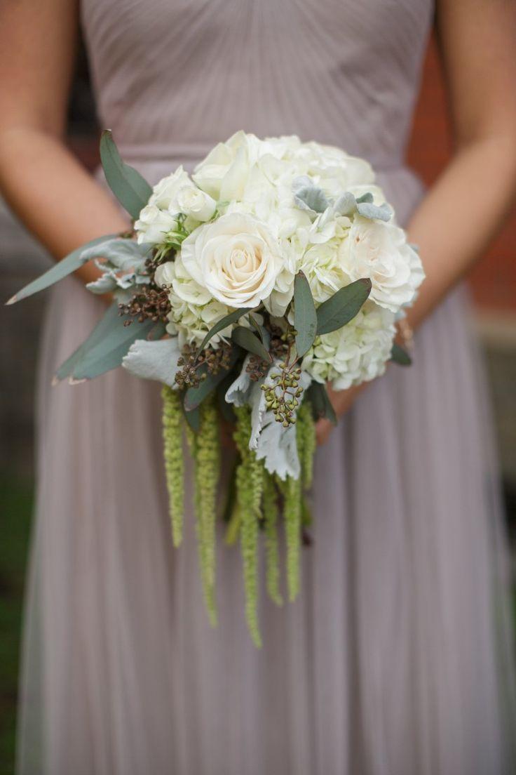 17 best images about mississippi wedding florist simple bridesmaids bouquet white hydrangea bouquet hanging amaranthus cream and gray bouquet cream and greenery bouquet demopolis al wedding