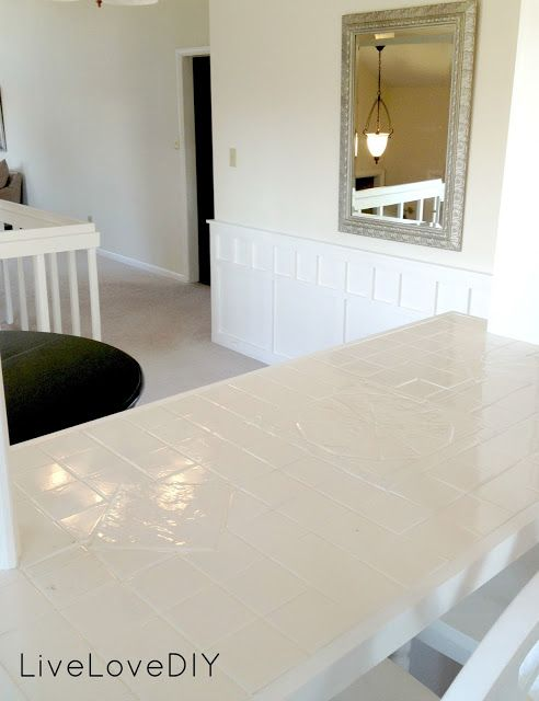 The 25 best Painting tile countertops ideas on Pinterest
