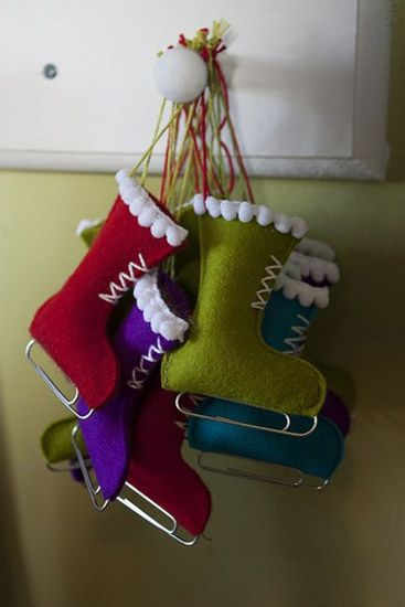 7 Simple Craft Ideas, Easy to make Handmade Christmas Decorations