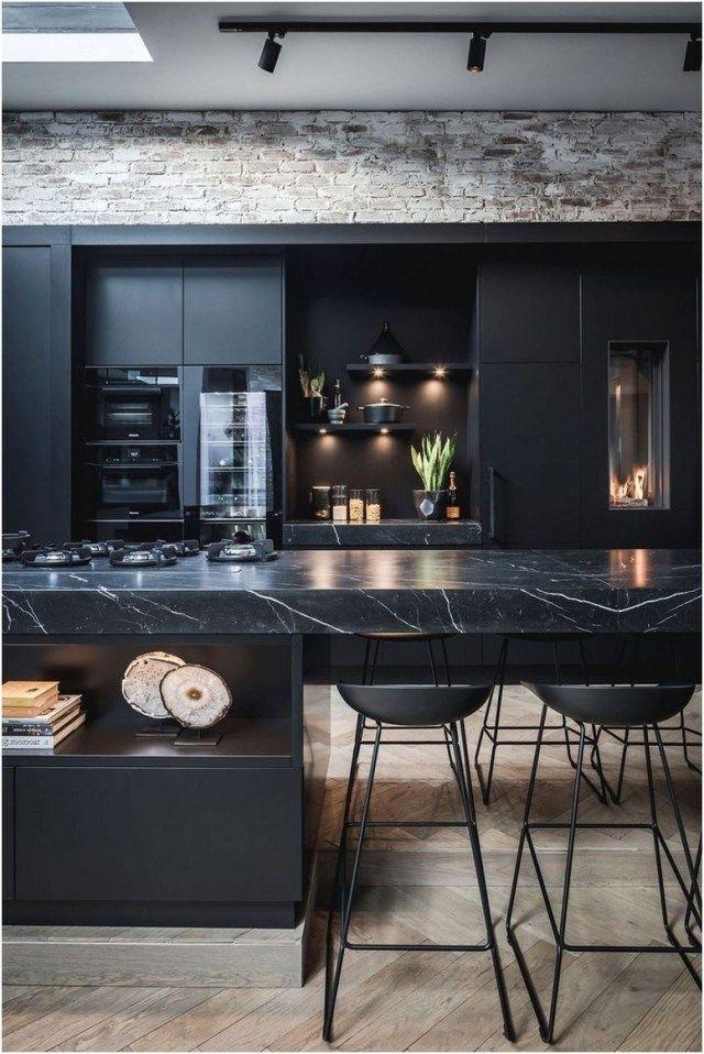 48 Amazing Grey Living Room Ideas In 2020 41 Best Home Design Ideas Interior Design Kitchen Black Kitchen Design Modern Kitchen Design