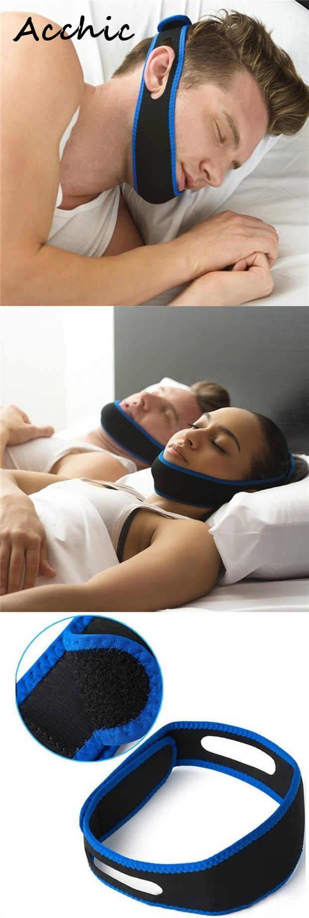 $8.96 Do you need it?Anti Snoring Chin Straps Mouth Guard Snore Stopper For Sleeping
