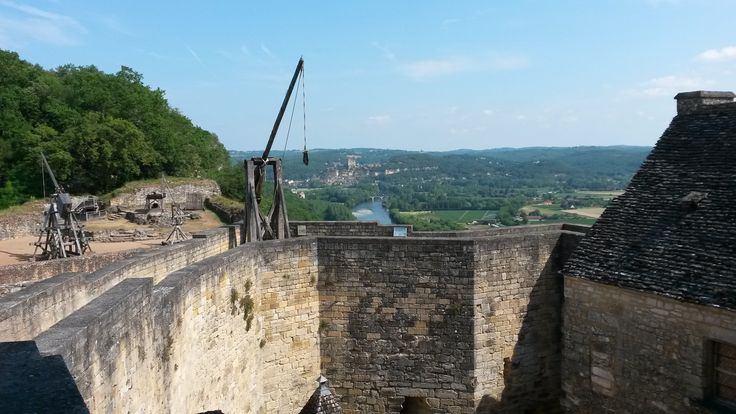 Castelnaud medieval chateau