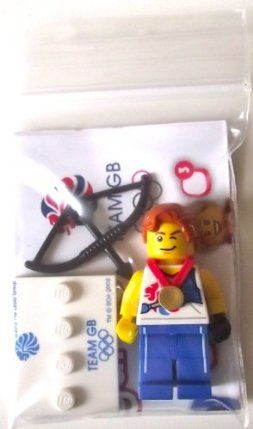 Lego Team GB Olympics Minifigures - Agile Archer Set #8909 (UK Exclusive) by LEGO. $8.95