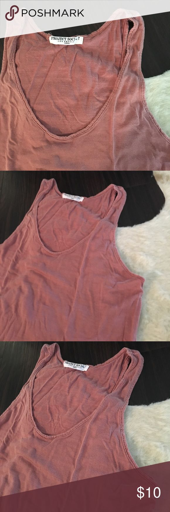 Project Social T Soft Tank Top Soft Cotton. Made in USA. Project Social T. Size Medium Urban Outfitters Tops Tank Tops