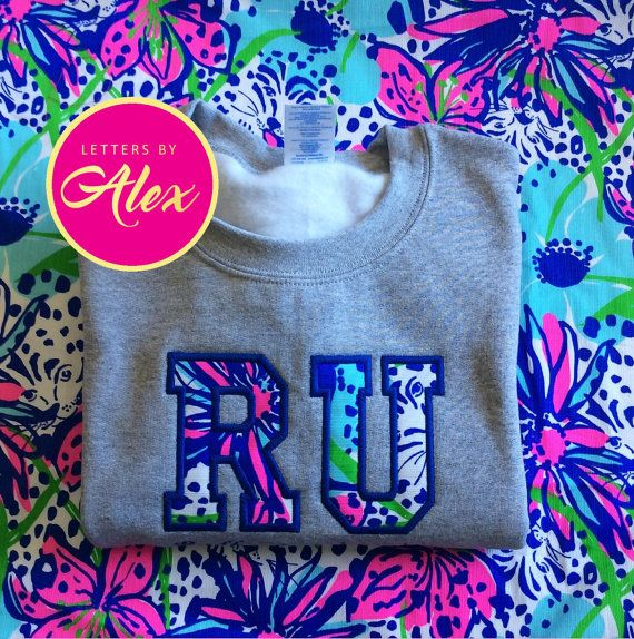 Customizable Greek or School Lilly Pulitzer by LettersbyAlex