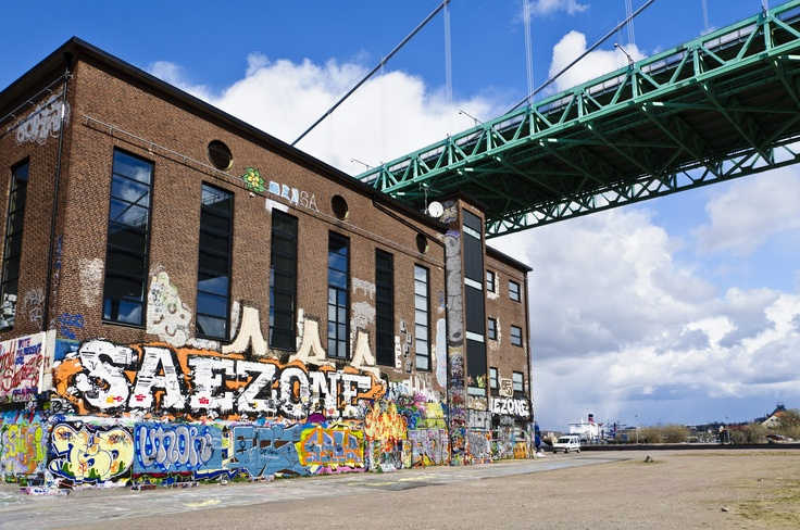 Röda Sten is an art and culture center in Gothenburg that strives to widen the definition of art. The building that houses Röda Sten was originally a heat central for the local industries. Photo Joachim Brink