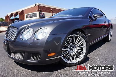 2008 Bentley Continental GT 2008 Bentley Continental GT SPEED Coupe 2008 Gray Bentley GT Speed Coupe like 2004 2005 2006 2007 2009 2010 2011 2012
