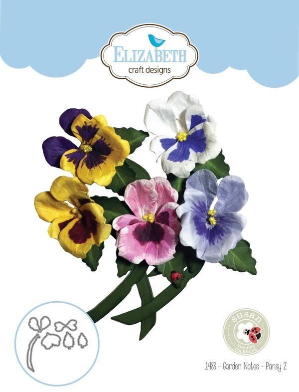 Elizabeth Craft Dies GARDEN NOTES CORNFLOWER BACHELOR BUTTON EC1484