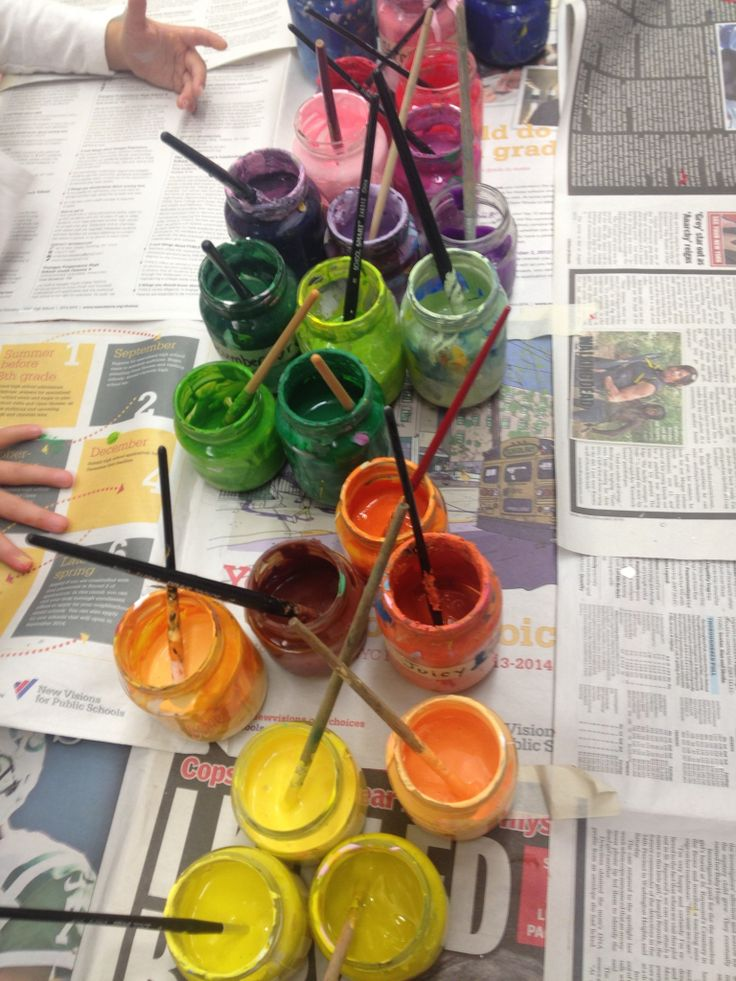 Color Mixing and Classification