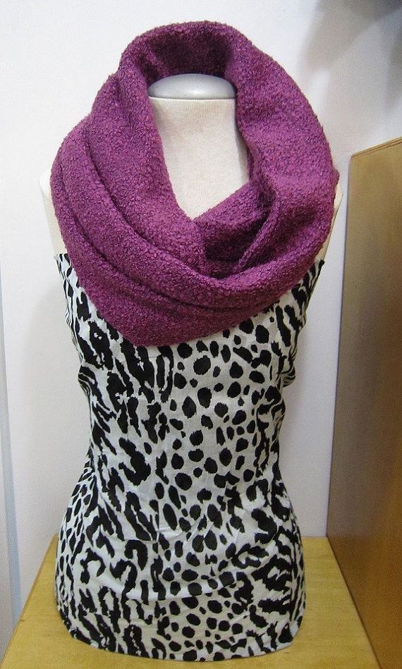 Handmade Infinity Scarf In Pantone Color by EarthyEcoStyle on Etsy, $30.00