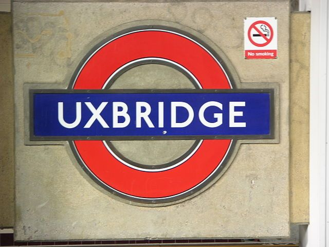 Uxbridge London Underground Station in Uxbridge, Greater London