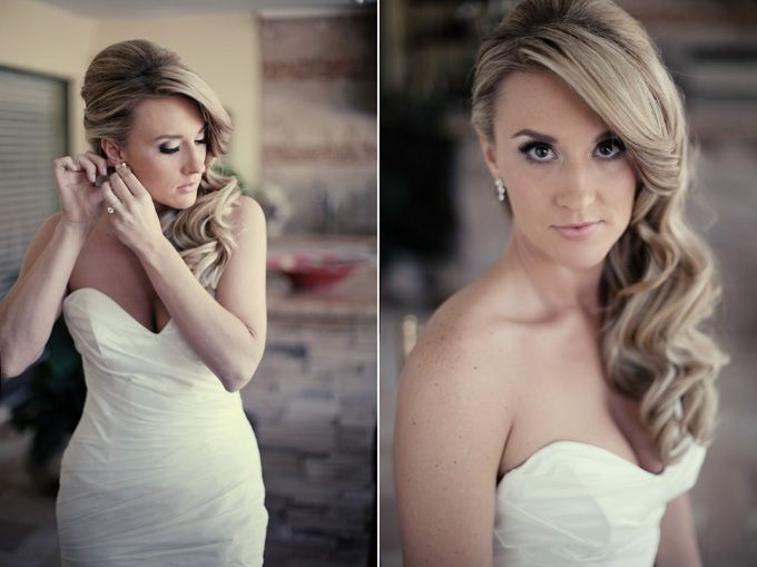 red sports themed wedding | K and K Photography-04 .. love the hair & much more! elegant wedding.