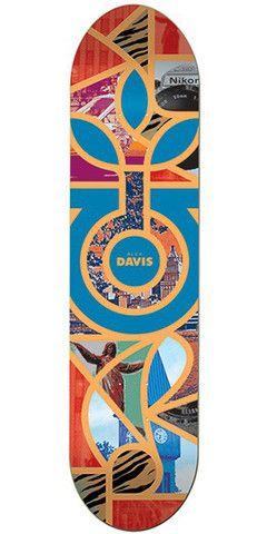 Habitat Alex Davis Melange Skateboard Deck - Multi - 8.25in