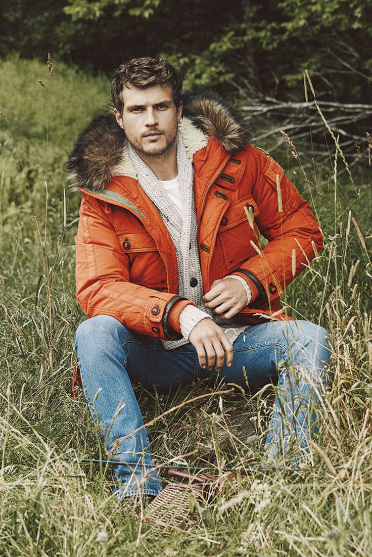 A&F From Past to Present // A&F Vintage Down Parka: Durable and well-crafted featuring a sherpa-lined hood with faux fur trim, a full button and zip closure, pockets with button flaps at front and left sleeve, a drawcord waist, ribbed storm cuffs with button tabs // abercrombie.com