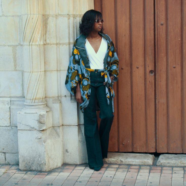 Comment porter le look oversize sans avoir l'air d'un sac? Lisez le suite de l'article sur le blog. En attendant, voici un aperçu d'une de mes créations: Melina #bejustus #wax #waxoversize