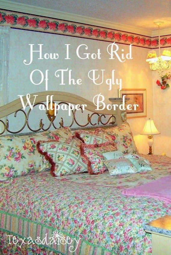 Pin On Get Rid Of Wallpaper Border