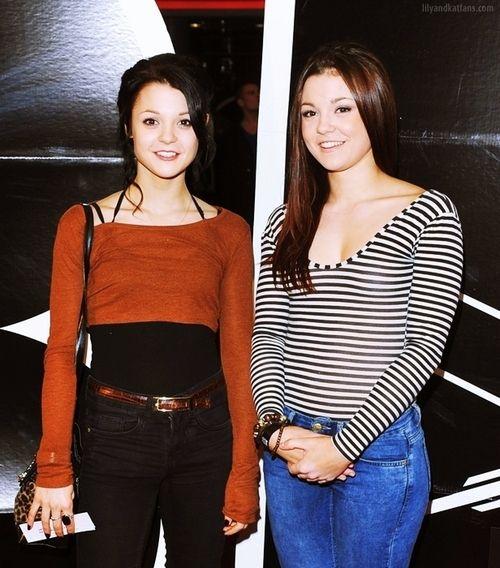 Kathryn and Megan Prescott from Skins UK