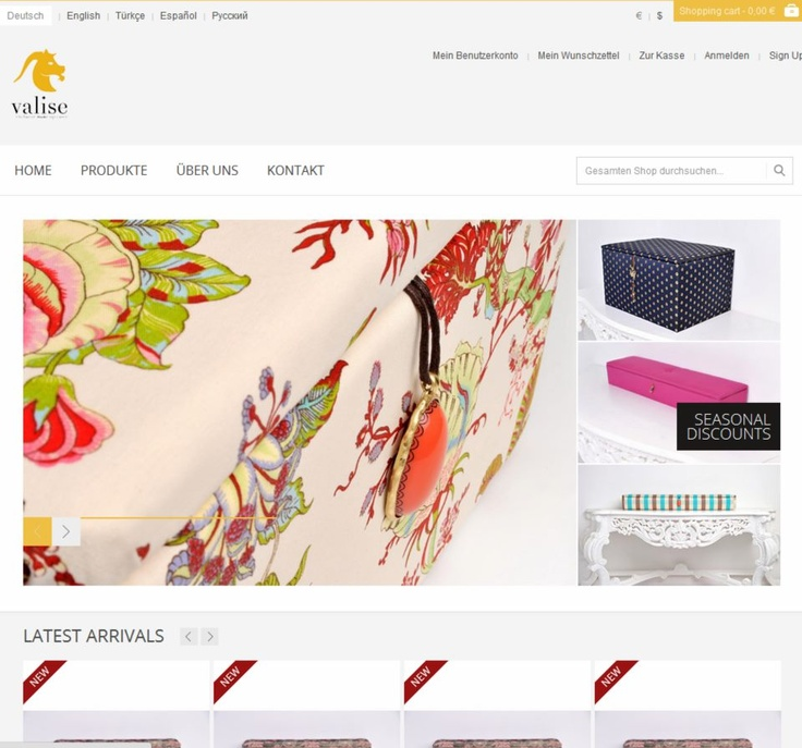 Here you can find the products from Valise.