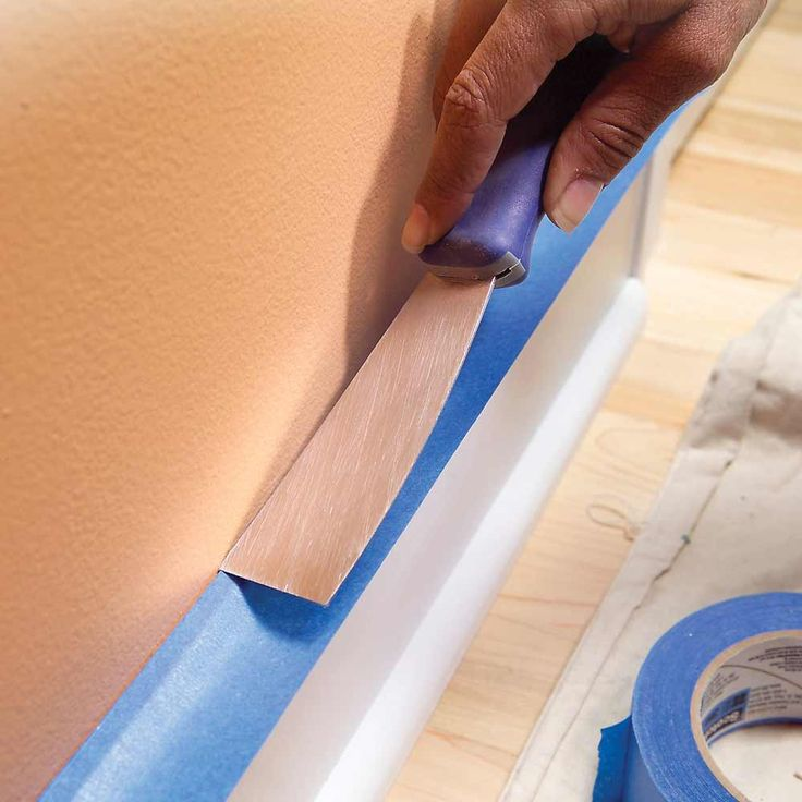 Avoid Drips as you Paint: Masking tape does a good job of protecting woodwork—if it's applied well. Click for the pro #painting #tips