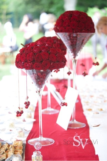 Red... Passion and cherries!