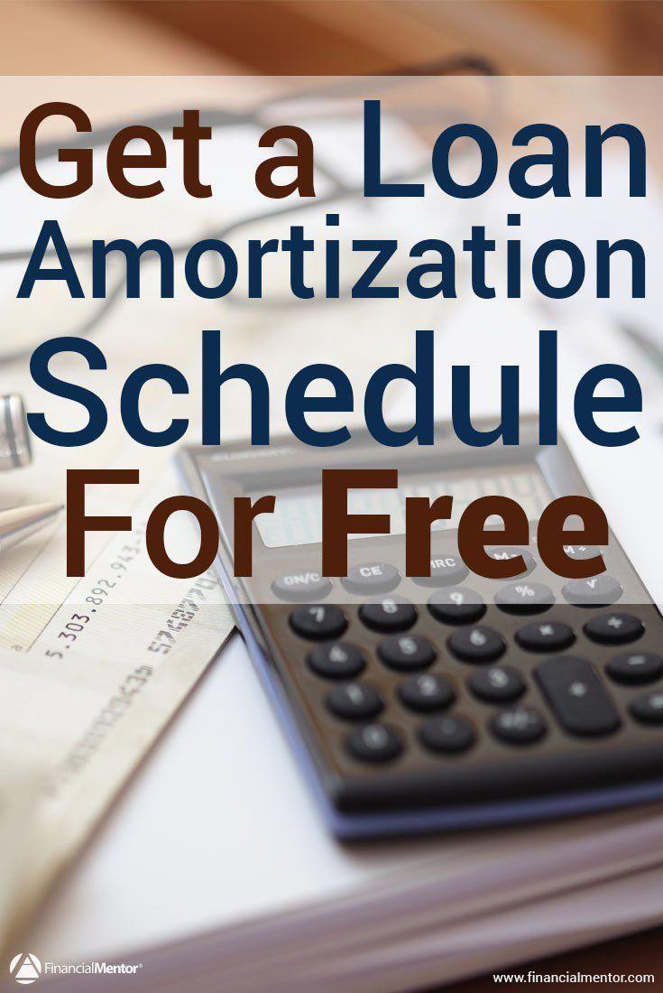 amortization schedule calculator mortgage tips pinterest