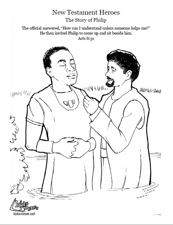 1c530f5b56b26cec053b6a5655e46a07 audio bible bulletins 50 best images about philip and the ethiopian official on on philip and the ethiopian eunuch coloring page