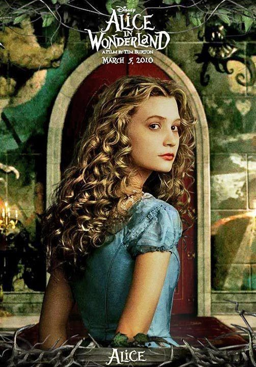 TB106. Alice (II) / Alice in Wonderland / Movie Poster (2010) / #Movieposter / #Timburton