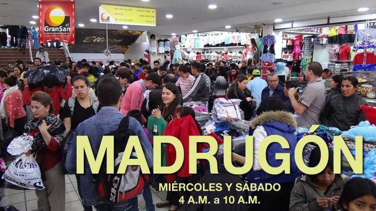 No te puedes perder nuestro #Madrugón de moda, solo aquí en #ElGranSan desde las 4:00 a.m.