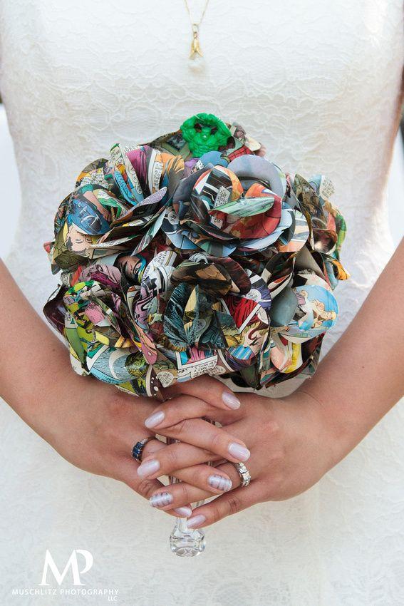 comic book inspired wedding invitations%0A Colorful Comic Book Inspired wedding at Landoll u    s Mohican Castle in  Loudonville  Ohio