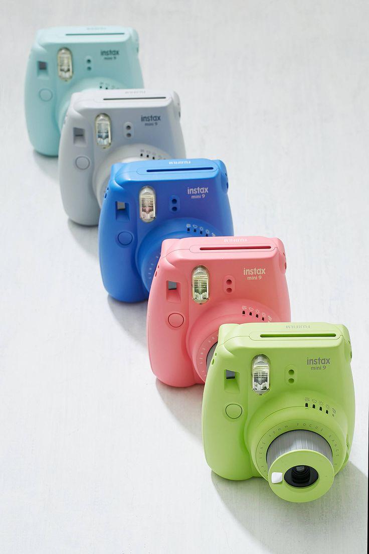 The all new Fujifilm Instax Mini 9 Instant Camera / camera colors!!!!!!!