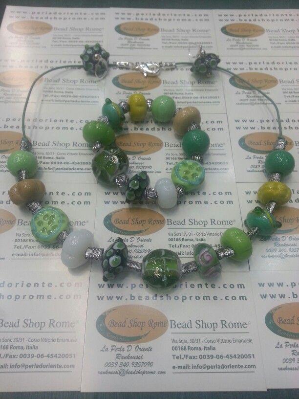 Spring beads by Bead Shop Rome by Rankoussi via Sora 30 / 31 Roma.