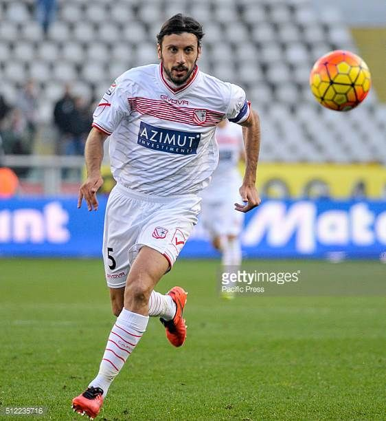 Cristian Zaccardo in action during the Serie A football match between Torino FC and Carpi FC The final result of the match is 00