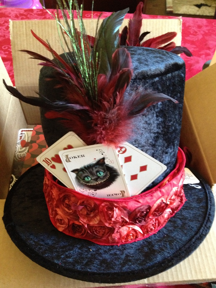 how to make a mad hatter hat out of card
