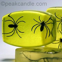 Embedded Bug Soaps - fun stuff - would work great with all sorts of fake bugs and spiders!  And *perfect* for a spooktacular Halloween party!  :)