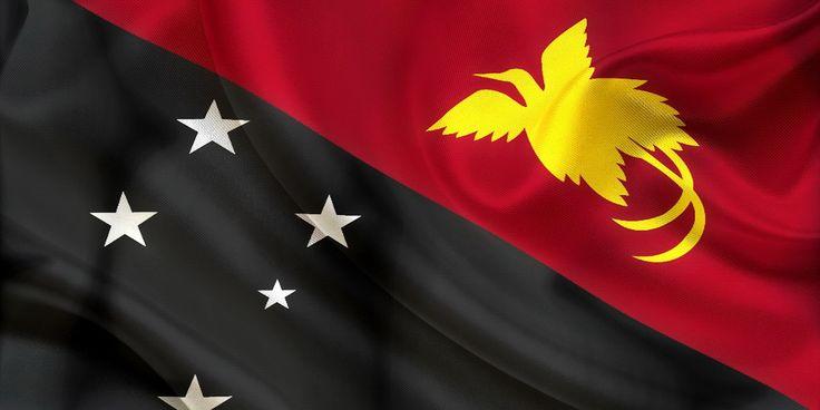 Papua New Guinea Flag Wallpaper