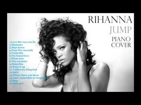 Rihanna Jump Piano Cover 2016 - Best songs of Rihanna