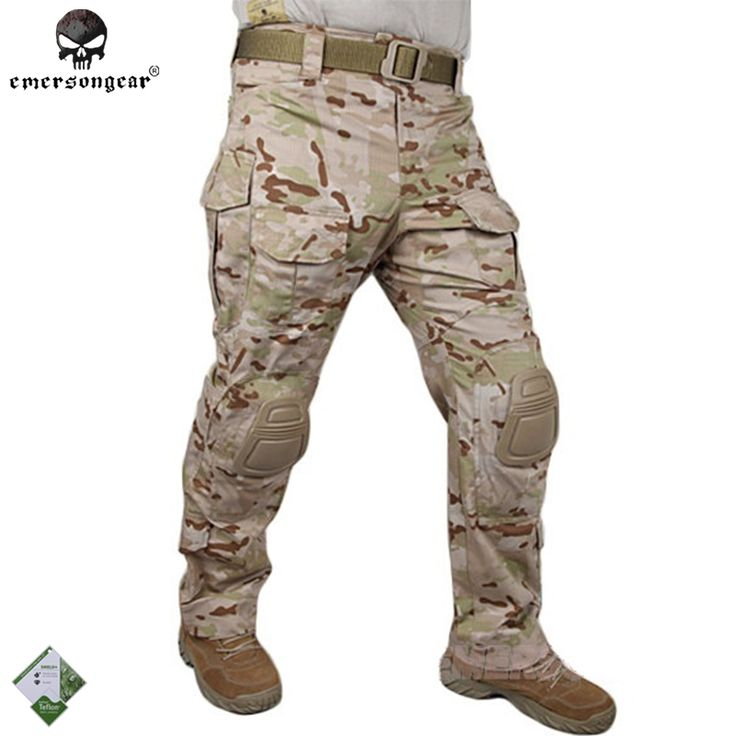 74.24$  Watch now - http://aliytg.shopchina.info/1/go.php?t=32350430372 - Emersongear G3 Combat Pants With Knee Pads BDU Army Airsoft Emerson Gear Paintball Hunting Trousers EM7042 MultiCam Arid  #magazineonlinebeautiful
