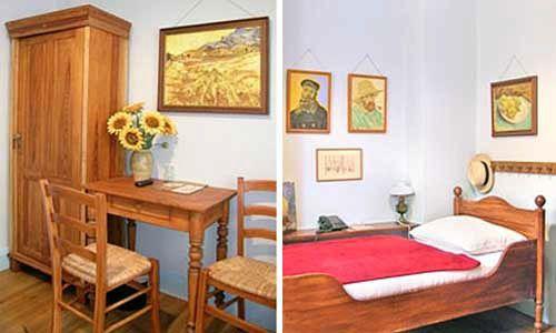 El dormitorio de Vincent, por Irene Hoppenberg, en Arte Luise Hotel, Berlín