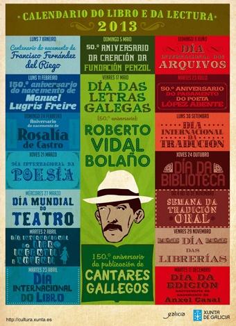 Calendario do libro e da lectura 2013